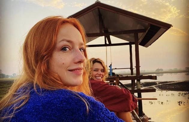 Malu Rodrigues e Bruna Linzmeyer (Foto: Reprodução)
