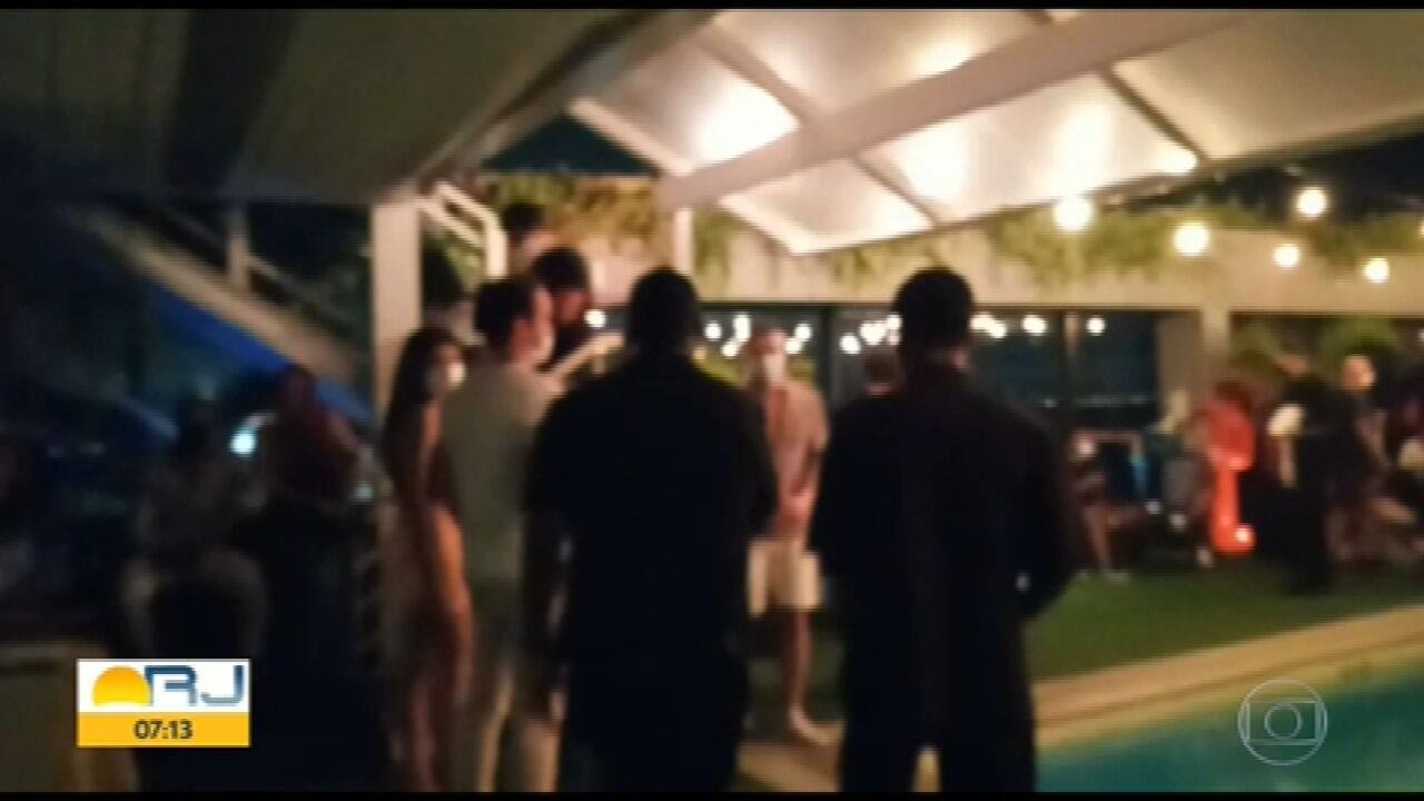 Fiscalização interrompe festa clandestina em hotel de Copacabana
