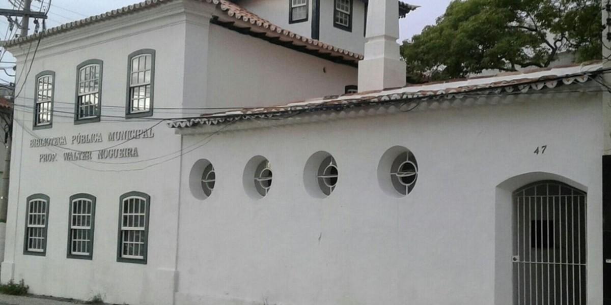 Biblioteca Pública no Centro de Cabo Frio, RJ, será também sede da Casa do Escritor