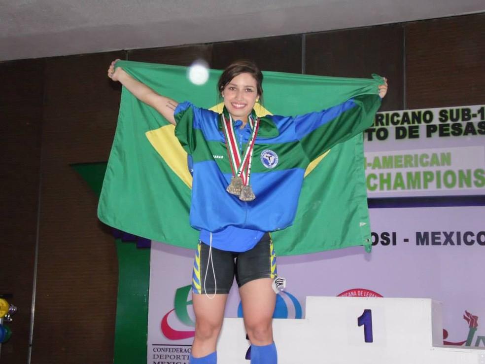 Mineira é a brasileira que mais medalhas conquistou em Mundiais (Foto: Arquivo pessoal)