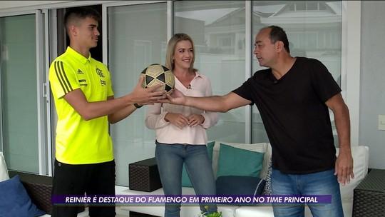 Reinier está prestes a completar ciclo que pai não terminou no Flamengo; assista