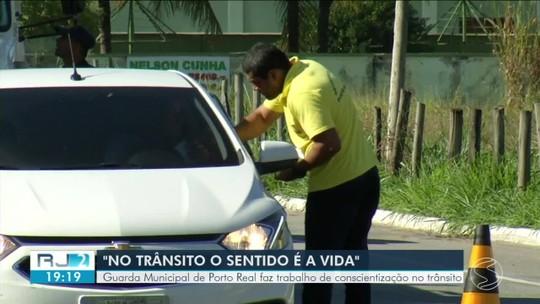 Maio Amarelo: Porto Real registra 30% de redução nas multas por infração e trânsito