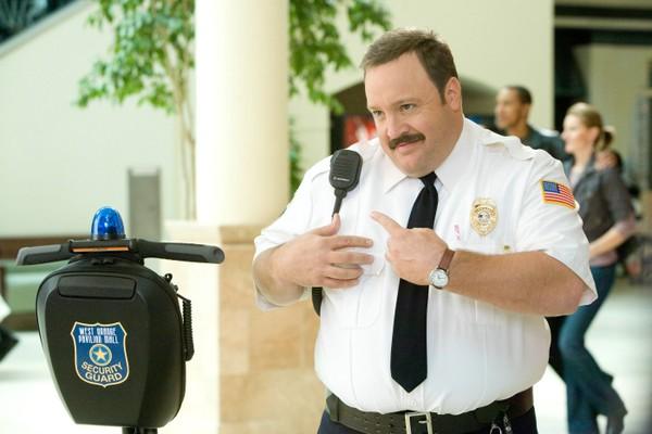 O ator Kevin James no papel do segurança Paul Blart (Foto: Reprodução)