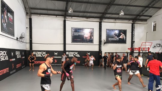 Equipe Tiger's Den, de Erick Silva, seleciona sete atletas em seletiva de MMA