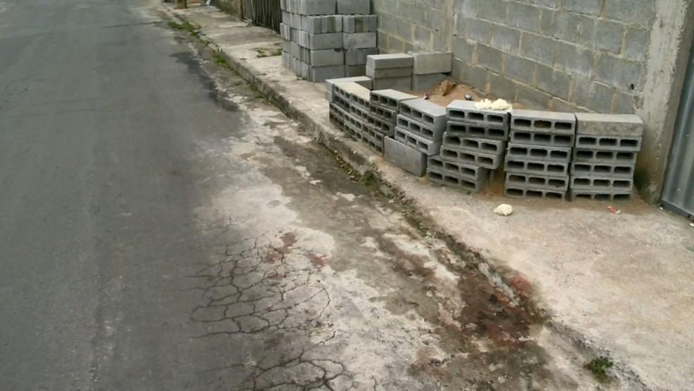 Local onde Carla foi morta no Espírito Santo — Foto: Reprodução/ TV Gazeta