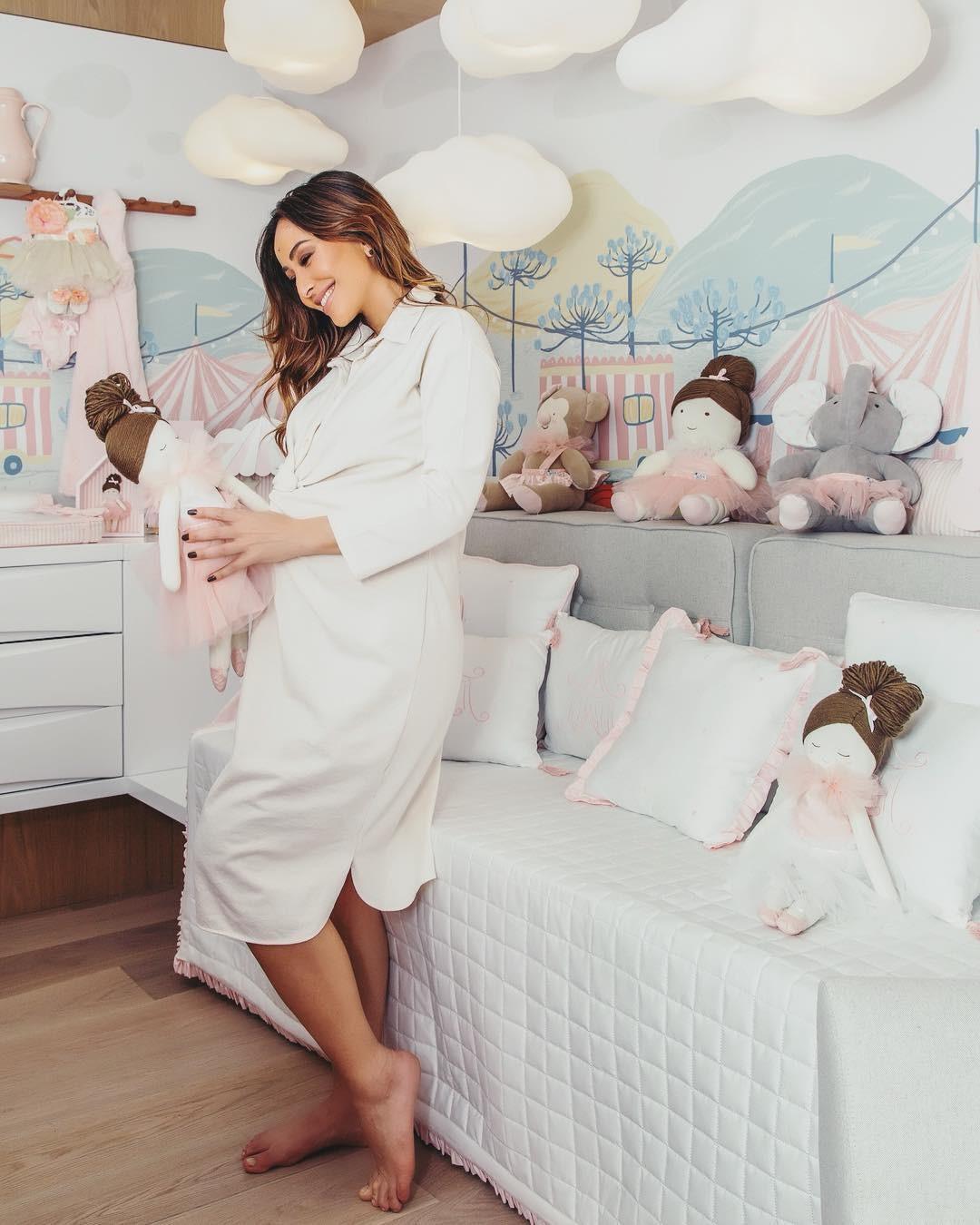 Conheça o quarto de Zoe, filha de Sabrina Sato e Duda Nagle (Foto: Divulgação)