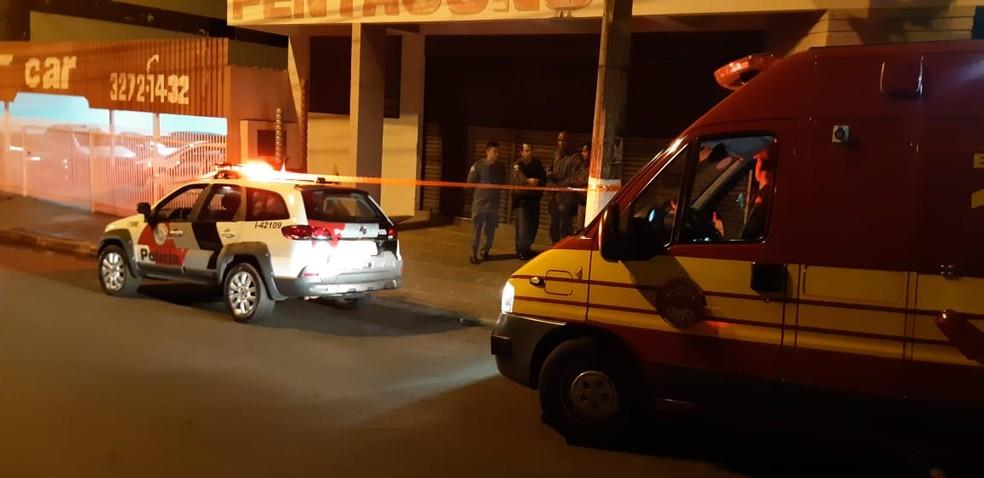 Acidente foi registrado em Presidente Venceslau (Foto: Wagner Bueno/Portal Bueno)