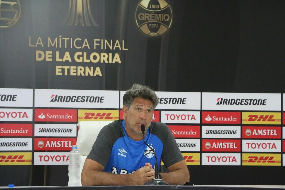 Renato rechaça time fechado na final da Libertadores:
