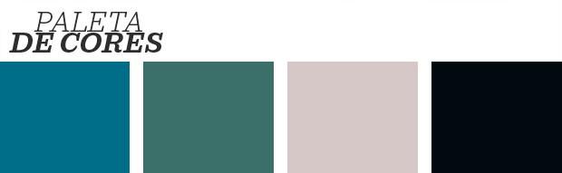 Décor do dia: Corredor colorido e cheio de personalidade (Foto: Reprodução)