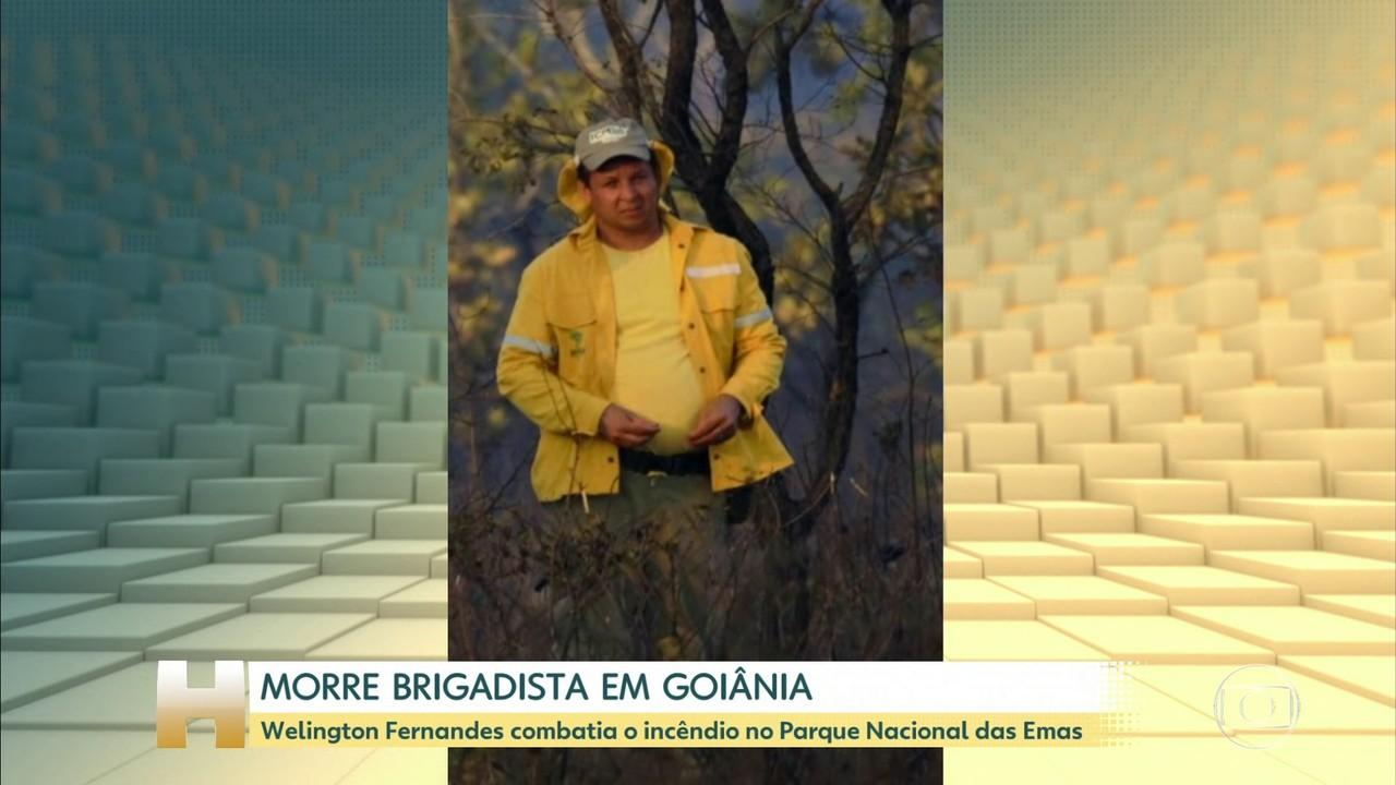 Morre brigadista e ambientalista Wellington Fernandes Peres Silva, em Goiânia