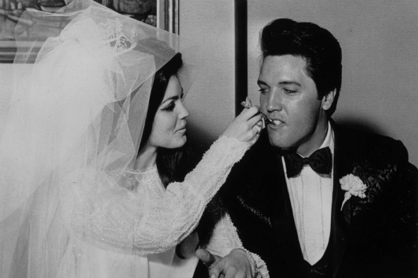 Elvis Presley e Priscilla Presley  (Foto: Getty Images)