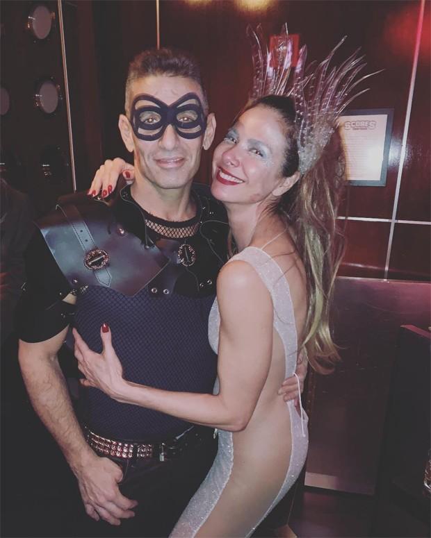 Luciana Gimenez e JeffreyJah (Foto: Reprodução/Instagram)