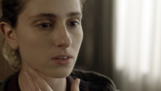Ivana fica sensibilizada com resultado de tratamento