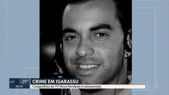 Cinegrafista é assassinado a tiros em bar no Grande Recife