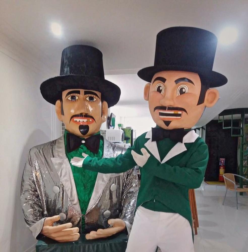 Homem da Meia Noite e o Calunguinha participarão da folia de Olinda no carnaval deste ano (Foto: Cristiano Freitas/Divulgação)