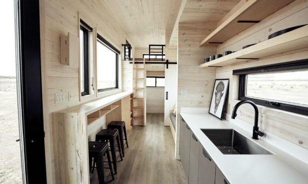 Tiny House nos EUA (Foto: Divulgação / Land Ark RV)