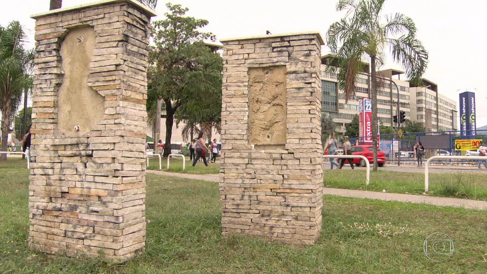 Rio gastou R$ 3 milhões ano passado para recuperar monumentos que foram vandalizados