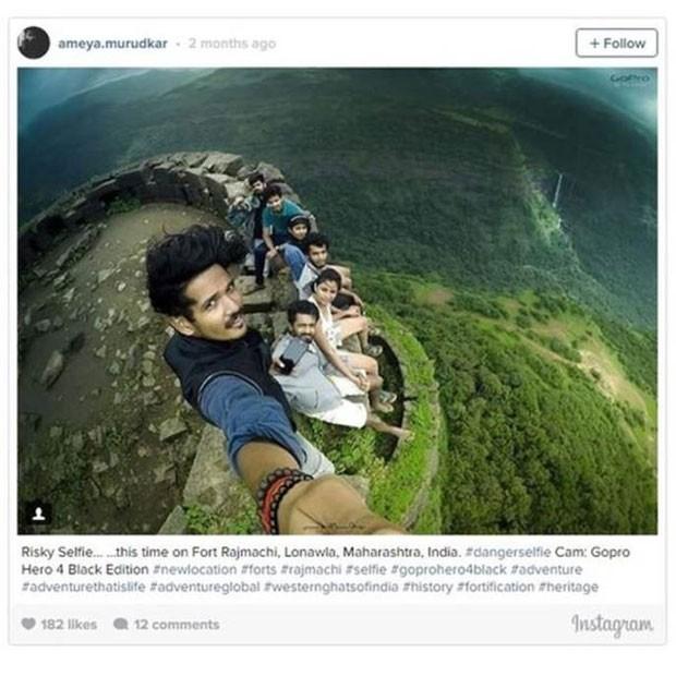 Índia é o país que mais registrou mortes causadas por selfies. (Foto: Reprodução/BBC)