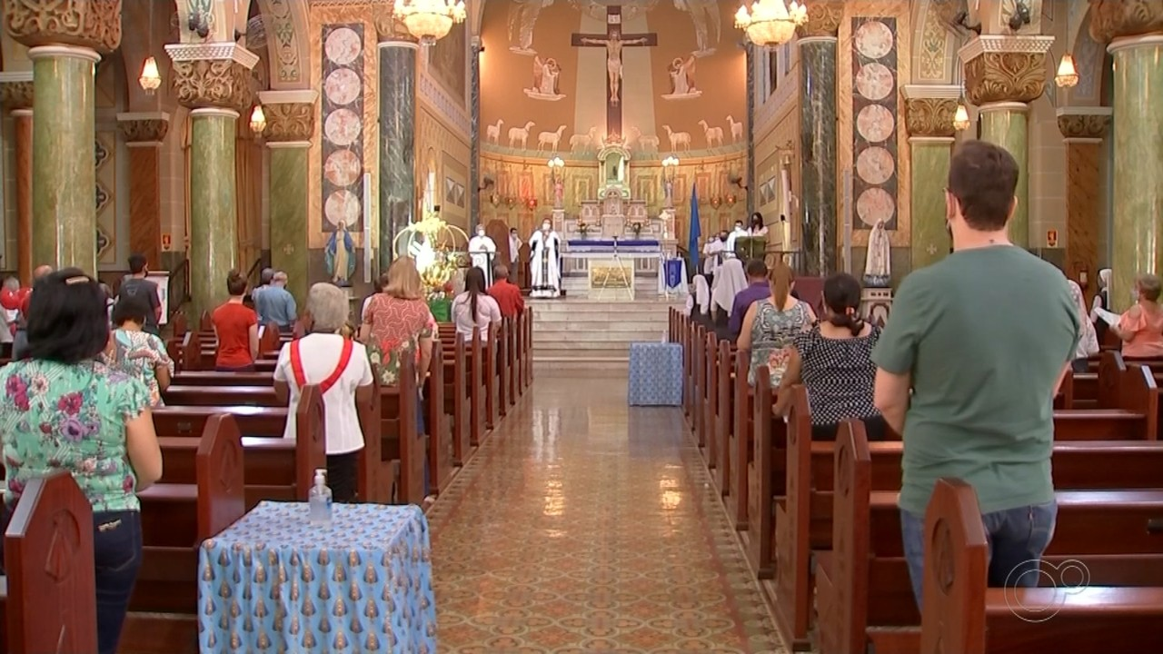 Basílica de Rio Preto celebra missa especial para o Dia de Nossa Senhora Aparecida