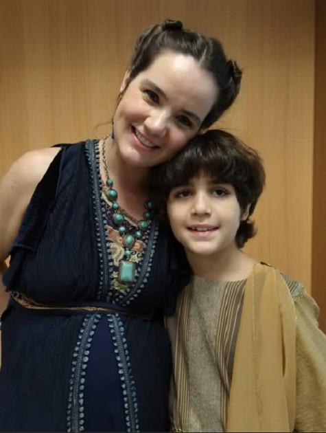 Tatyane Goulart e Haroun Abud em 'Gênesis' (Foto: Arquivo pessoal)