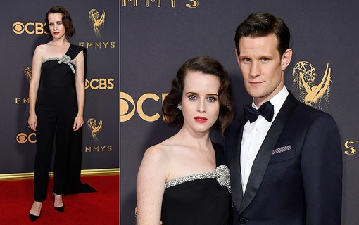 Claire Foy e Matt Smith