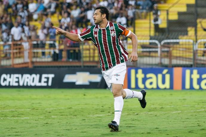 FRED Fluminense gol Botafogo  (Foto: Rudy Trindade / Agência Estado)