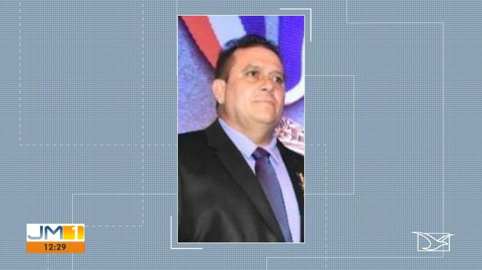 Auro Astério Azevedo era diretor-geral de presídio do Complexo Penitenciário de Pedrinhas, no Maranhão. — Foto: Reprodução/TV Mirante