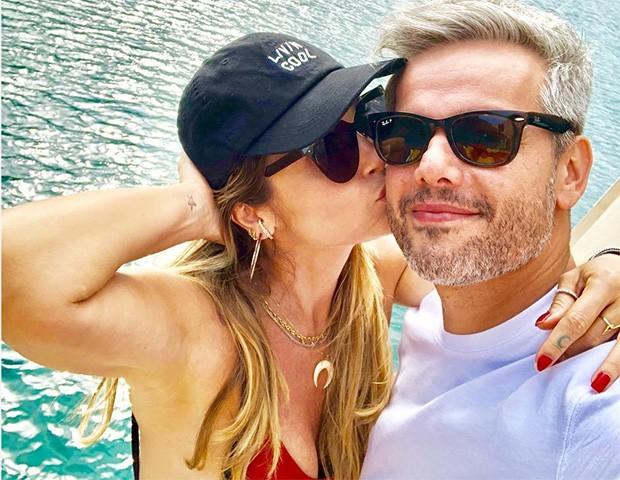 Flávia Alessandra e Otaviano Costa (Foto: Instagram)