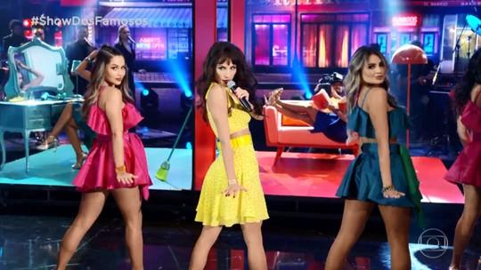Mel Fronckowiak sobre homenagem a Camila Cabello no 'Show dos Famosos': 'Foi uma ginástica!'