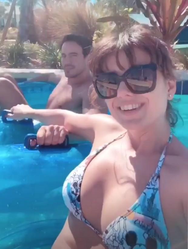 Paula Fernandes e o namorado, Gustavo Lyra (Foto: Reprodução/Instagram)