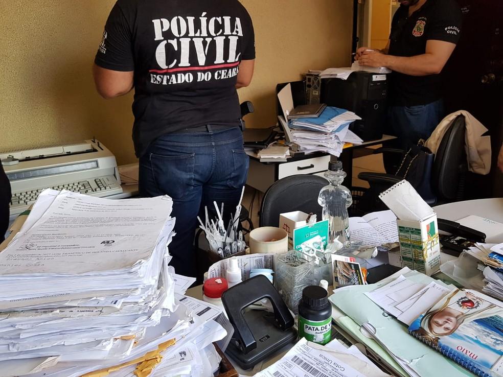 Operação 'Laranjas' desobre esquema de lavagem de dinheiro comandado por presidiário que movimento R$ 4 milhões — Foto: MPCE/Divulgação