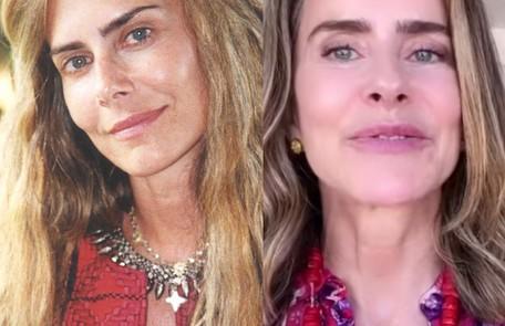Maitê Proença viveu Kalinda, americana que nasceu numa comunidade hippie na Califórnia e veio para o Brasil. Atualmente, a atriz mantém um canal no YouTube TV Globo - Reprodução/Instagram