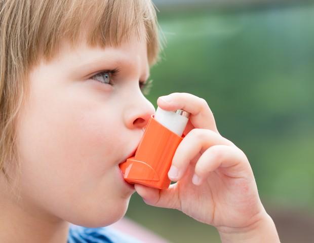 A asma acomete cerca de 15% das crianças e dos jovens  (Foto: Thinkstock)
