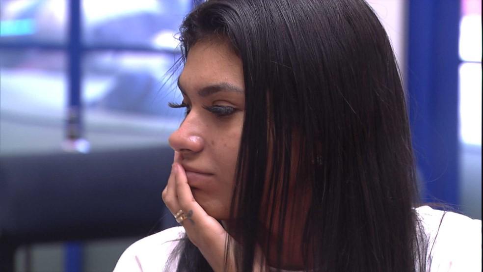 Pocah fala sobre 'dormir no jogo': 'Fiquei com peso na consciência' — Foto: Globo