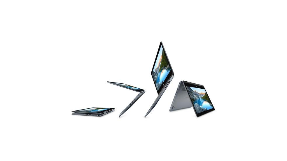 Inspiron tem processador de oitava geração e SSD, mesmo na versão mais em conta — Foto: Divulgação/Dell
