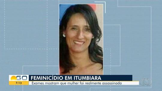 Perícia confirma assassinato de diarista e descarta suicídio relatado pelo marido dela à Polícia Civil, em Itumbiara
