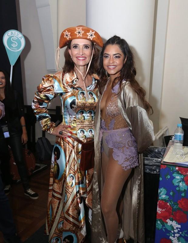 Andrea Natal e Lucy Alves (Foto: Reginaldo Teixeira/CS Eventos Divulgacao )