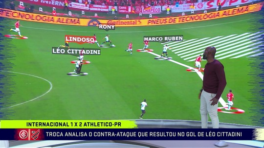 Grafite faz análise tática do gol de Léo Citaddini pelo Athletico-PR