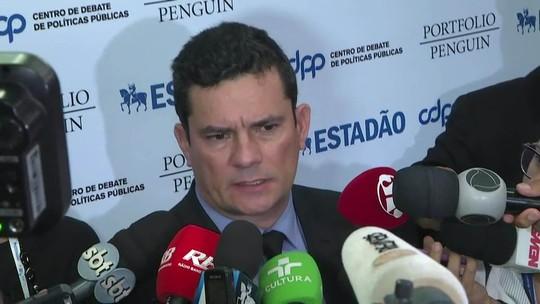 Fim da prisão após condenação em 2ª instância acabaria com sistema de responsabilidade, diz Moro