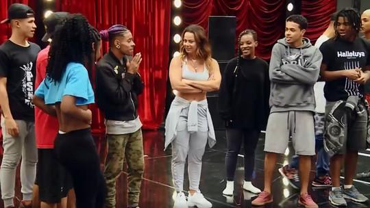Viviane Araujo brinca sobre bicampeonato em ensaio para o 'Dança de Grupo'; veja como foi