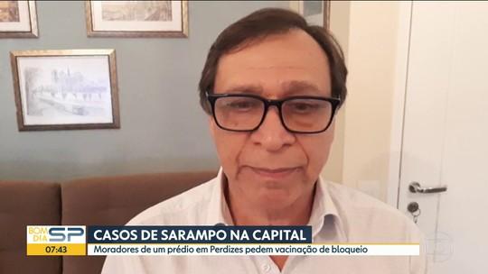 Sarampo na Capital