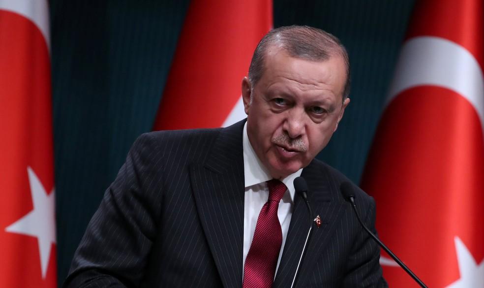 Presidente da Turquia, Recep Tayyip Erdogan (Foto: Umit Bektas/Reuters)