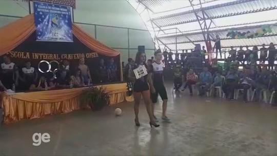 Jogos Olímpicos da Escola de Tempo Integral são abertos em Cruzeiro do Sul