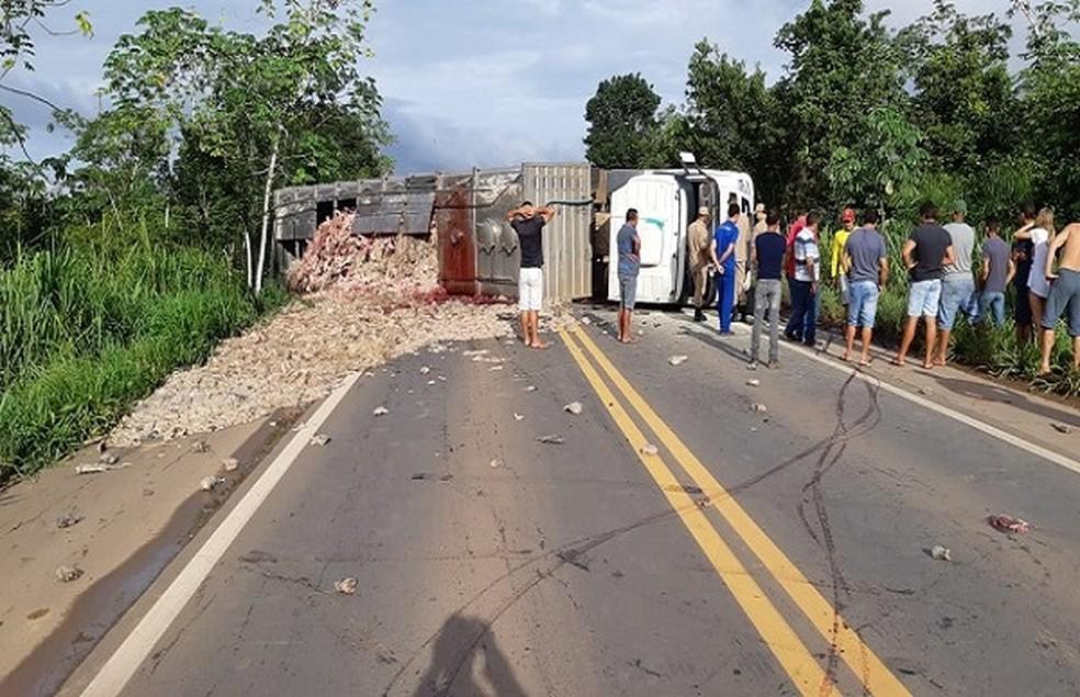 Acidente aconteceu no dia 22 de janeiro.  — Foto: Divulgação/Arquivo pessoal
