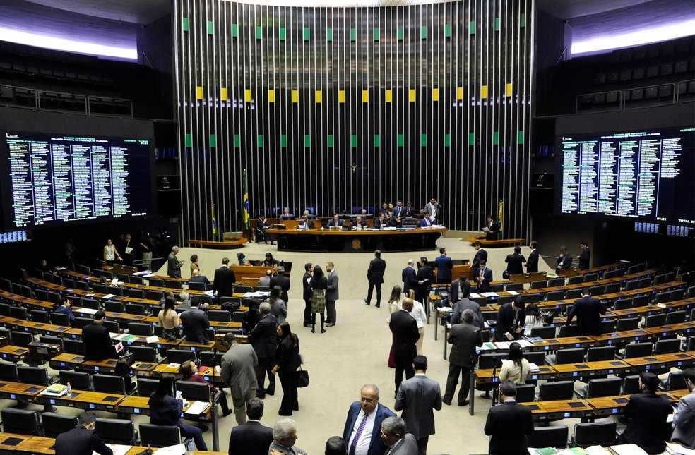 Plenário da Câmara em sessão de votação, em imagem de arquivo — Foto: Luis Macedo/Câmara dos Deputados