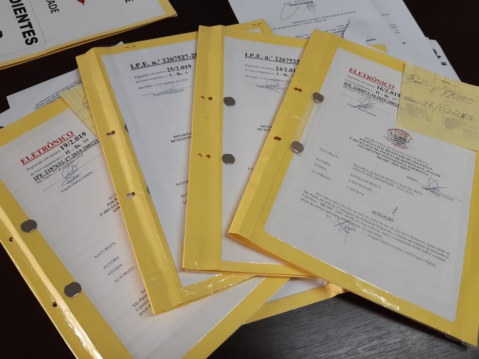 Inquéritos abertos na Drade: tentativas de manipulação de resultados em SP — Foto: Vicente Seda