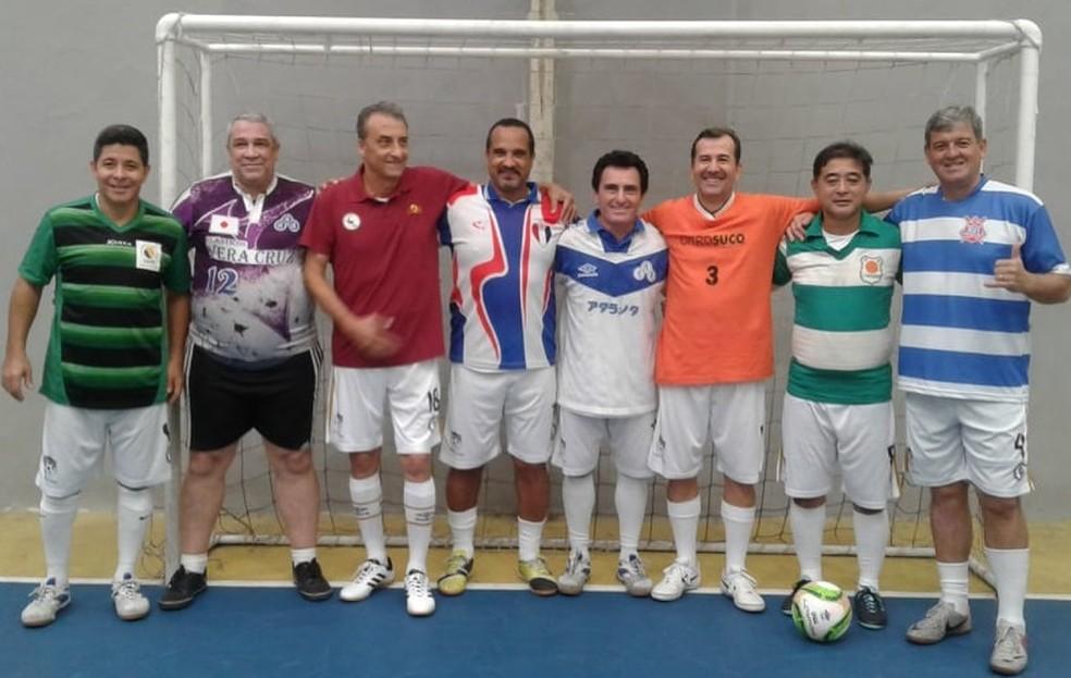 67656ecd1027b ... Embaixadores do Futsal Master 50 Anos — Foto  Divulgação   VDesportes