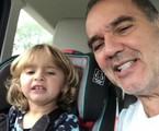 Humberto Martins e a neta, Sophia | Reprodução/Instagram