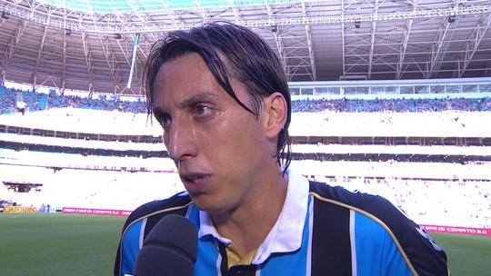 Geromel lamenta derrota para o Flamengo e pede critério da arbitragem para pênaltis