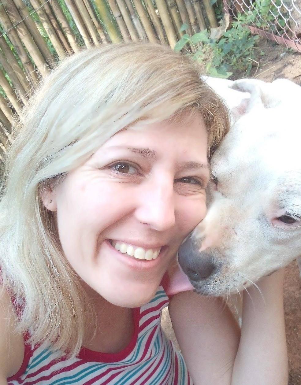 Vítima é cuidadora de animais e acolhe cães em São Roque (Foto: Arquivo pessoal)